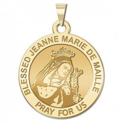 Blessed Jeanne Marie de Maille Religious Medal    EXCLUSIVE