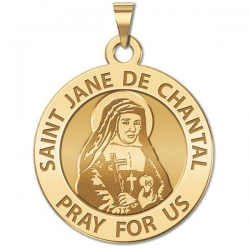 Saint Jane De Chantel Medal    EXCLUSIVE