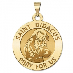Saint Didacus Religious Medal  EXCLUSIVE