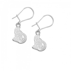 Ottawa Senators 3 8 Inch Earrings
