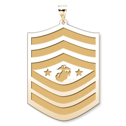 US Marine Corps Sergeant Major Of  The Marine Crops Pendant