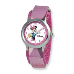 Minnie Mouse 6 3  Nylon Band with Velcro Closure