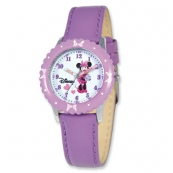 Minnie Mouse 8 4  Nylon Band with Velcro Closure