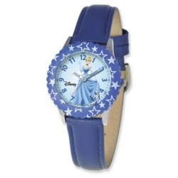 Cinderella 8 4  Leather Band with Buckle Closure