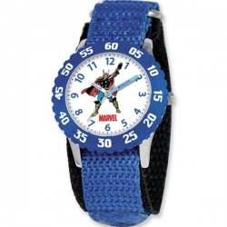 Captain America 7  Nylon Band With Velcro Closure