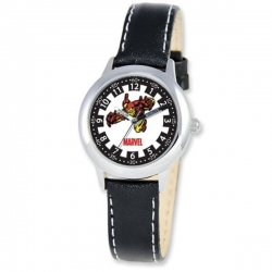 Iron Man 8 4  Leather Band With Buckle Closure