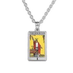 The Magician Tarot Card Medal