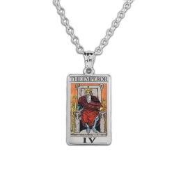 The EmperorTarot Card Medal