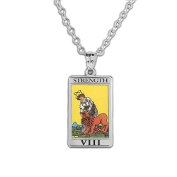 Strength Tarot Card Medal