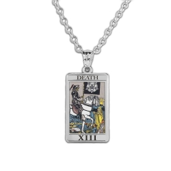 Death Tarot Card Medal