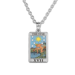 The Star Tarot Card Medal