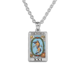 The World Tarot Card Medal