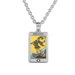 The Fool Tarot Card Medal