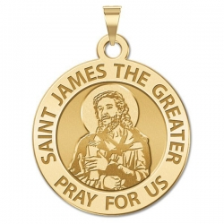 Saint James the Greater  portrait  Medal  EXCLUSIVE