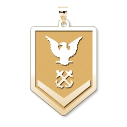 Unites States Coast Guard  Petty Officer 3rd Class Pendant