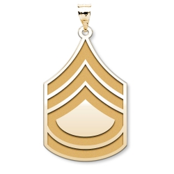 US Army National Guard  Sergeant First Class Pendant