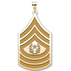US Army National Guard  Command Sergeant Major Pendant