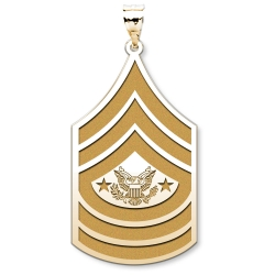 US Army National Guard Sergeant Major of the NG Pendant