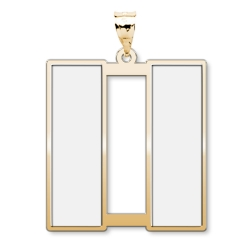US Army National Guard Captain Pendant