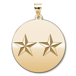 US Army National Guard General Pendant