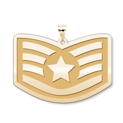 U S AirForce National Guard Air Force Staff Sergeant Pendant
