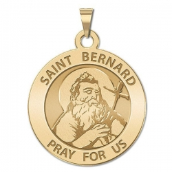 Saint Bernard of Menthon Religious Medal   EXCLUSIVE
