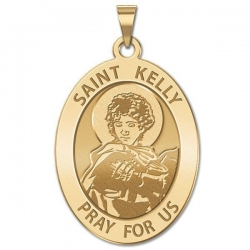 Saint Kelly Religious Medal   EXCLUSIVE