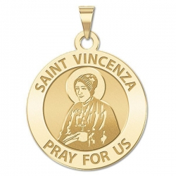 Saint Vincenza Religious Medal  EXCLUSIVE