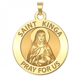 Saint Kinga Religious Medal   EXCLUSIVE
