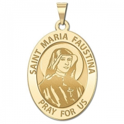 Saint Faustina Medal  EXCLUSIVE