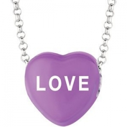 Sweethearts Enamel  Love  16  Necklace with Gift Box