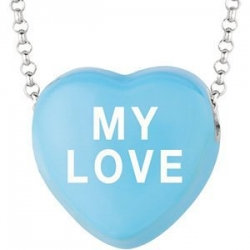 Sweethearts Enamel  My Love  16  Necklace with Gift Box
