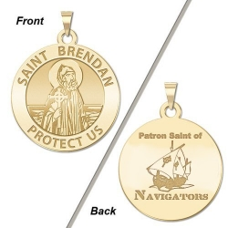 Saint Brendan Double Sided Navigator Medal    EXCLUSIVE