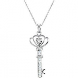 The Family Key of Love Pendant