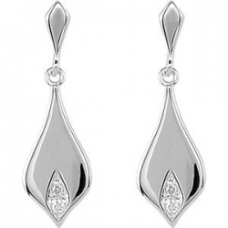 025 ct tw Diamond Earrings