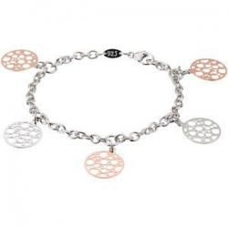 Rose Gold Plated Sterling Silver Bracelet