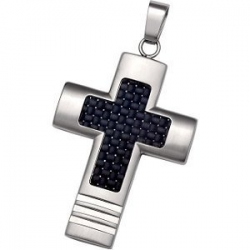 Stainless Steel Cross with Carbon Fiber