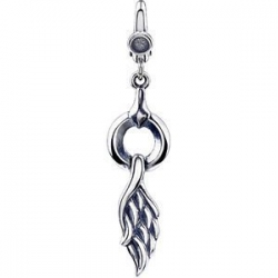 Sterling Silver Angel Wing Charm