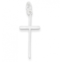 Sterling Silver Latin Cross Charm