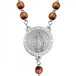 Miraculous Medal  Rosary Beads  EXCLUSIVE