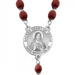 Sacred Heart of Jesus Rosary Beads  EXCLUSIVE