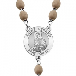 Saint Gerard Rosary Beads  EXCLUSIVE