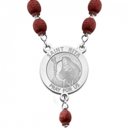 Saint Rita Rosary Beads  EXCLUSIVE