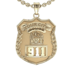 Law Enforcement Badge Jewelry