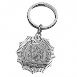 Personalized Lieutenant Badge Keychain w  Your Number   Department