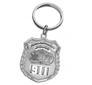 Personalized Port Authority Police Badge Keychain w  Your Number