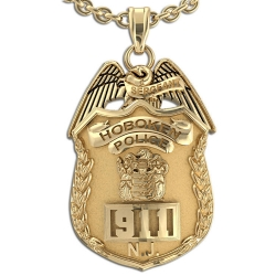 Personalized New Jersey Sergeant Badge w  Your Number   Department