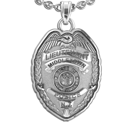 Personalized New Jersey Lieutenant Badge w  Your Department