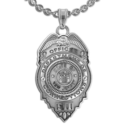 New Jersey Personalized Correction s Officer Badge w  Your Number