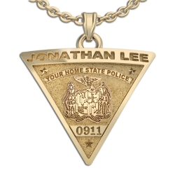 Personalized New Jersey State Police Badge w  Your Name   Badge Number